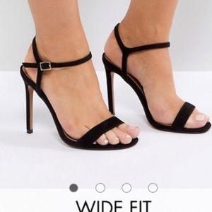 ASOS size 6 black heels